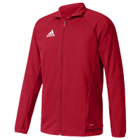 adidas Tiro 17 Jacket - Boys' Grade School - Red / Red