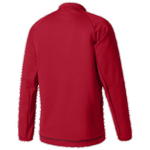 Adidas Tiro 17 Jacket - Boysu0026#39; Grade School - Basketball - Clothing - Power Red/White