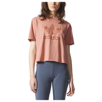 adidas Originals Tubular Chicago Raw Edge T-Shirt - Women's - Pink / Pink