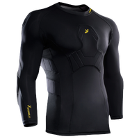 Storelli Sports BodyShield Goal Keeper 3/4 Undershirt - Men's - Black / Yellow