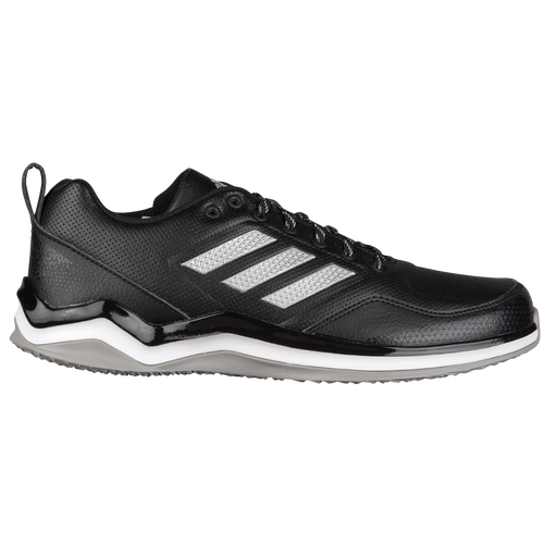 Adidas Men S Speed Trainer  Running Shoes On Feet