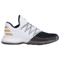 adidas Harden Vol. 1 - Boys' Grade School -  James Harden - White / Black