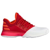 adidas Harden Vol. 1 - Boys' Grade School -  James Harden - White / Red