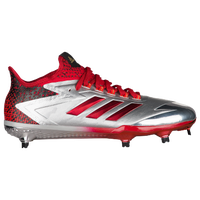 adidas Afterburner 4 LE - Men's - Silver / Red