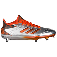 adidas Afterburner 4 LE - Men's - Silver / Orange