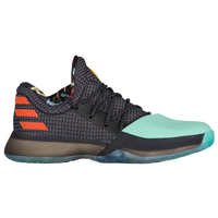 adidas Harden Vol. 1 - Boys' Grade School -  James Harden - Black / Orange
