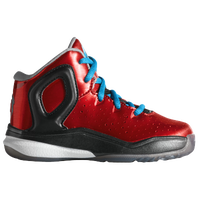 adidas D Rose 5 - Boys' Toddler - Derrick Rose - Red / Light Blue