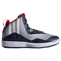 adidas J Wall - Boys' Grade School - John Wall - Grey / White