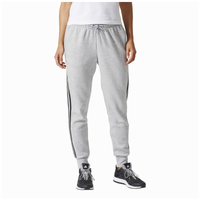 adidas Athletics 3-Stripes Cotton Jogger - Women's - Grey / Black