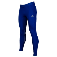 adidas ALPHASKIN Compression Tights - Men's - Blue / Blue