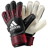 adidas Jr. Fingersave GK Gloves - Grade School - Black / Red