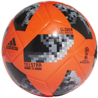 adidas World Cup 2018 Glider Soccer Ball - Red / Black