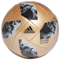 adidas World Cup 2018 Glider Soccer Ball - Black / Silver