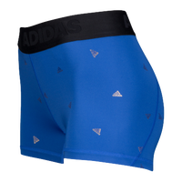 adidas ALPHASKIN Compression Shorts - Women's - Blue / Black