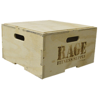 Rage Fitness Stackable Plyo Box