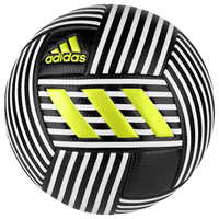 adidas Nemeziz Soccer Ball - White / Black