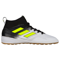 adidas Ace Tango 17.3 IN - Boys' Grade School - White / Yellow