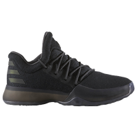 adidas Harden Volume 1 - Boys' Grade School -  James Harden - All Black / Black