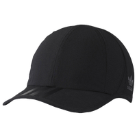 adidas Originals 3-Stripes Hat - Women's - All Black / Black
