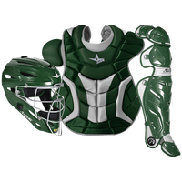All Star System 7 Catcher's Kit - Adult - Dark Green / White
