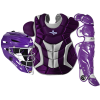 All Star System 7 Catcher's Kit - Adult - Purple / White