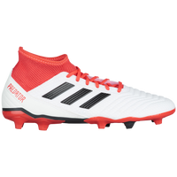 adidas Predator 18.3 FG - Men's - White / Red