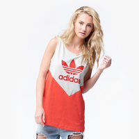 adidas Originals Embellished Arts Tank - Women's - Off-White / Red