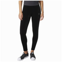adidas Originals Velvet Vibes Leggings - Women's - Black / Grey