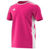 adidas Team Entrada 18 S/S Jersey - Men's - Pink / White