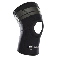 DonJoy Performance Proform 4MM Open Patella Knee Sleeve - Black / Grey