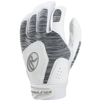 Rawlings Storm Fastpitch Batting Glove - Women's - White / Grey