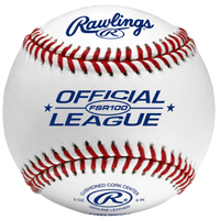 Rawlings Official League Flat Seam Baseballs - Men's - White / Blue