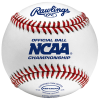 Rawlings Official NCAA Flat Seam Baseball - Men's - White / Blue