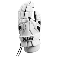 STX Cell III Lacrosse Gloves - Men's - White / Black