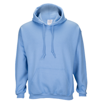 Gildan Team 50/50 Fleece Hoodie - Men's - Light Blue / Light Blue