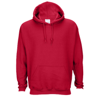 Gildan Team 50/50 Fleece Hoodie - Men's - Red / Red