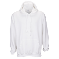Gildan Team 50/50 Fleece Hoodie - Men's - All White / White