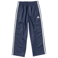 adidas Tricot Pants - Boys' Toddler - Navy / Grey