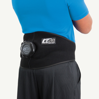 Ice20 Back-Hip Ice Compression Wrap - Black / Black