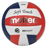 Molten Team Soft Touch NFHS Practice Ball - Red / White