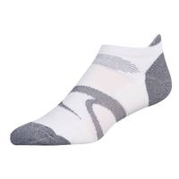 ASICS® Intensity Single Tab 3 Pack Socks - Men's - White / Grey