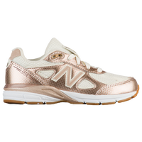New Balance 990 - Girls' Grade School - Gold / White