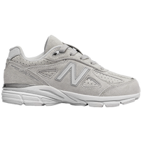 New Balance 990 - Girls' Grade School - Grey / White