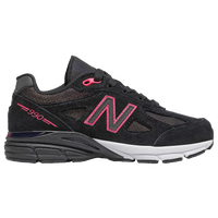 New Balance 990 - Girls' Grade School - Black / Pink