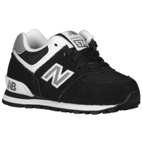 New Balance 574 - Boys' Toddler - Black / White