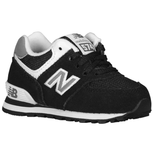 New Balance 574 - Boys' Toddler - Black/White