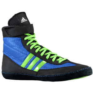adidas Combat Speed 4 - Men's - Bahia Blue/Lime Green/Black