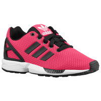 adidas Originals ZX Flux - Boys' Grade School - Pink / Black
