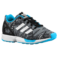 adidas Originals ZX Flux - Boys' Grade School - Black / White