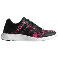 adidas Pure Boost - Women's - Black / Pink